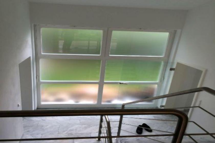 Nach Umbau und Sanierung: Treppenaufgang
