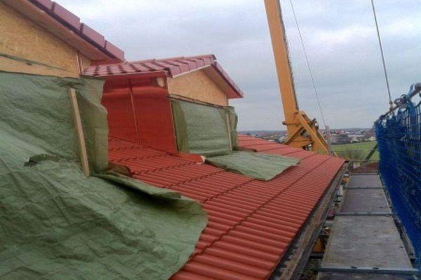 Einbau Dachgaube