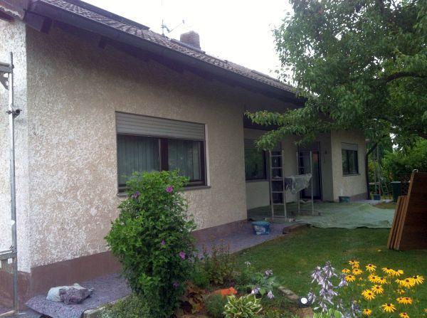 Sanierung: Terrassenseite