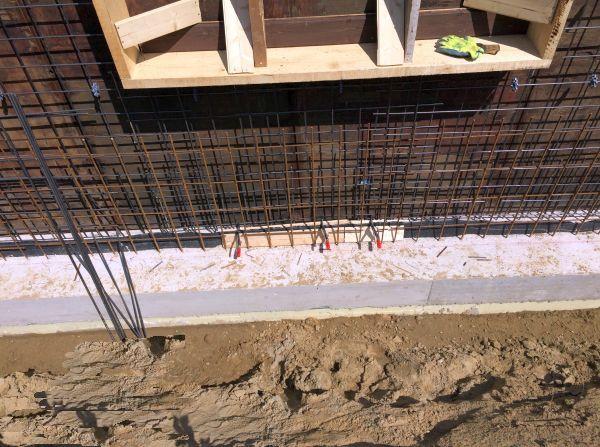 Baustahlarmierung Bodenplatte