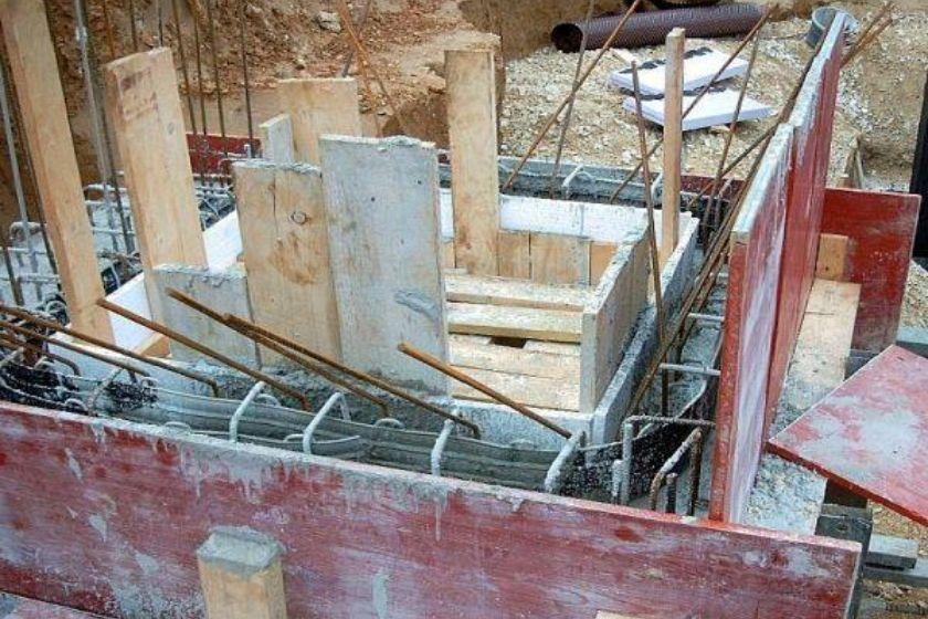 Rohbau: Kellerbereich
