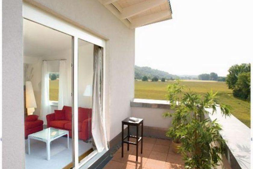 Musterhaus: Balkon