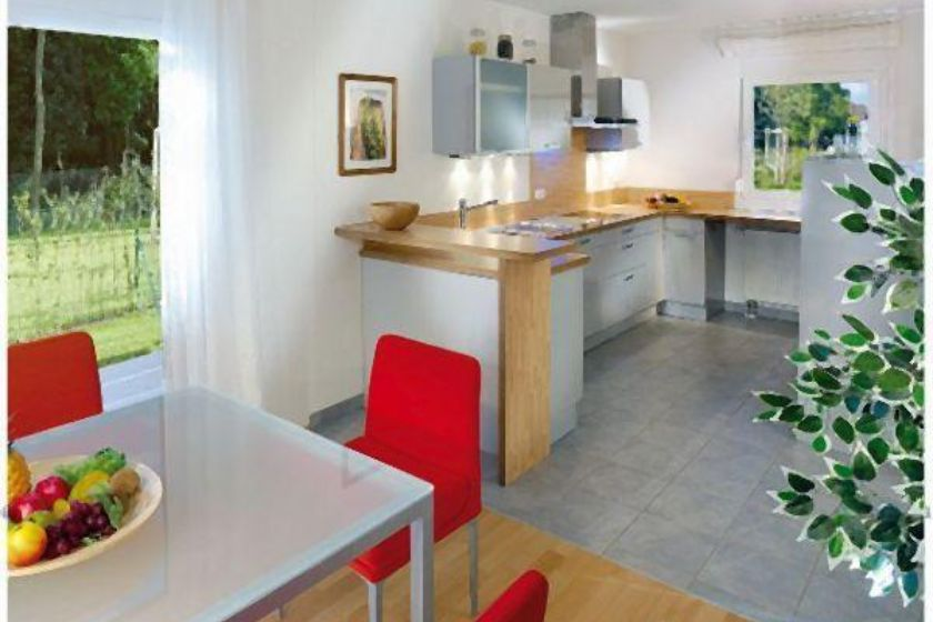 Musterhaus: Küche