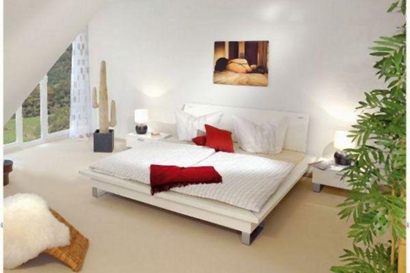 Musterhaus: Modernes Schlafzimmer