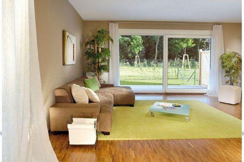 Musterhaus: Modernes Wohnzimmer