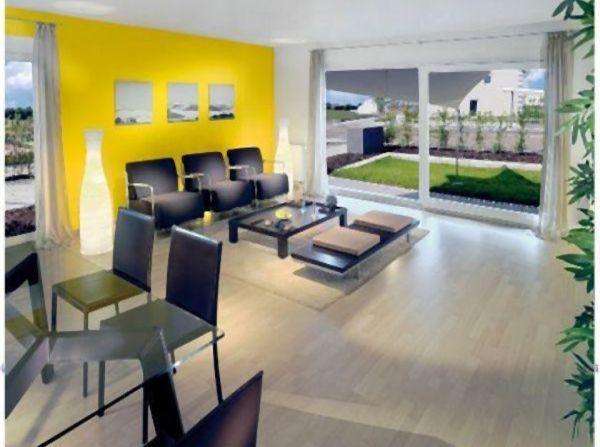Musterhaus: Einrichtungsmöglichkeit für Ihr Wohnzimmer