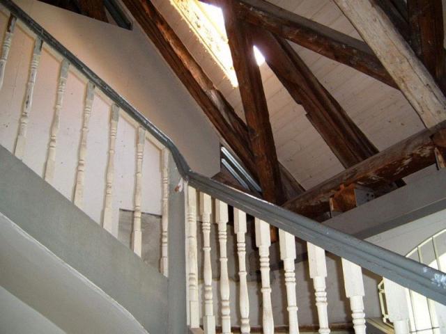 Freigelegter Dachstuhl