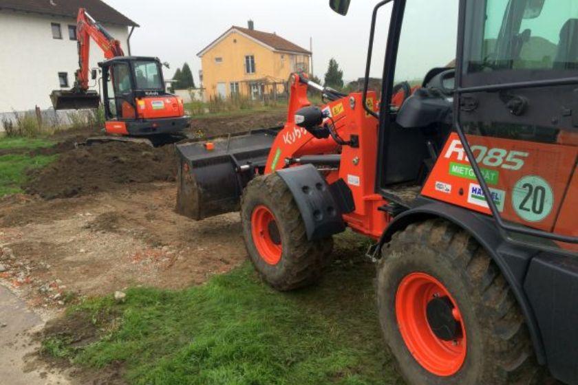 Rohbau: Vor dem Bauaushub