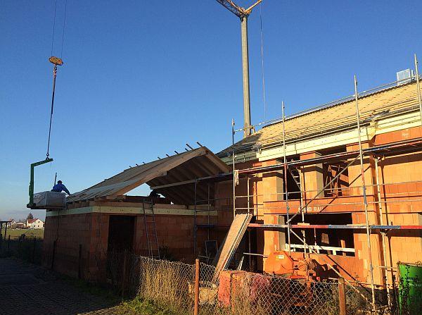 Vom Rohbau zur Fertigstellung: Dachgebälk
