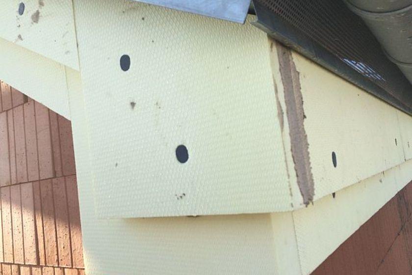 Vom Rohbau zur Fertigstellung: Dacheckbereich