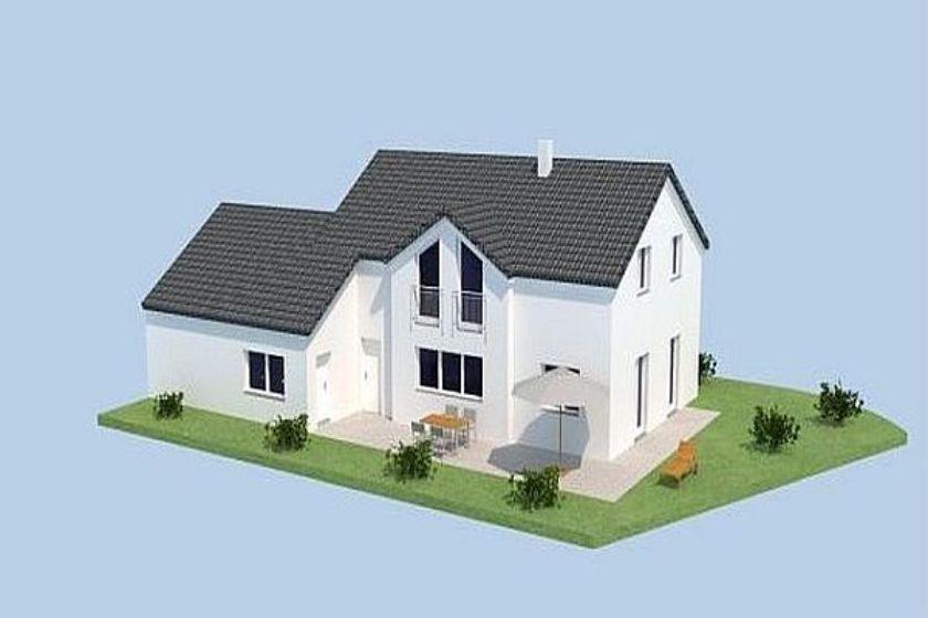 Vom Rohbau zum Neubau: Unser Jurahaus in Modelldarstellung