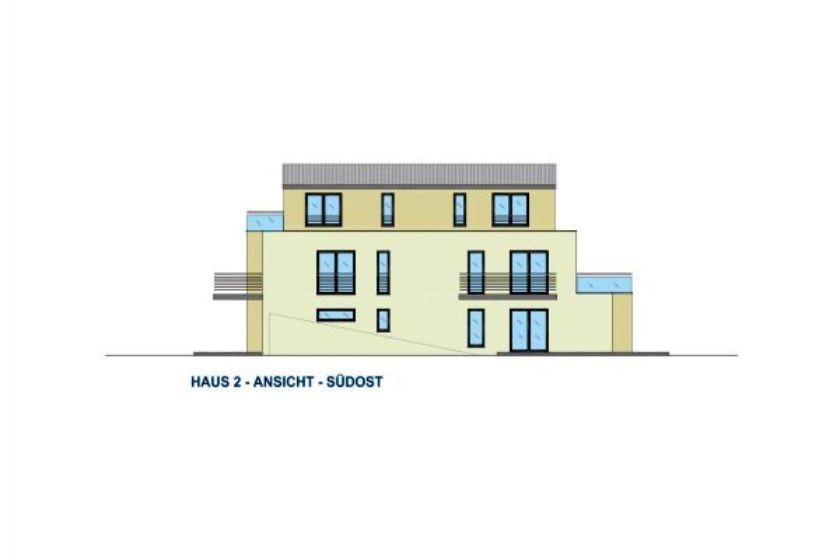 Haus 2: Ansicht Südost